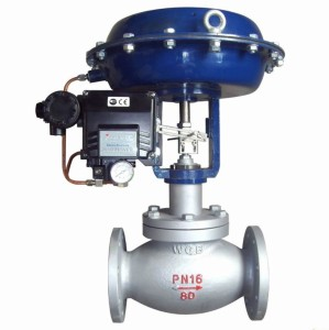 Pneumatic-Diaphragm-Globe-Control-Valve-with-Positioner