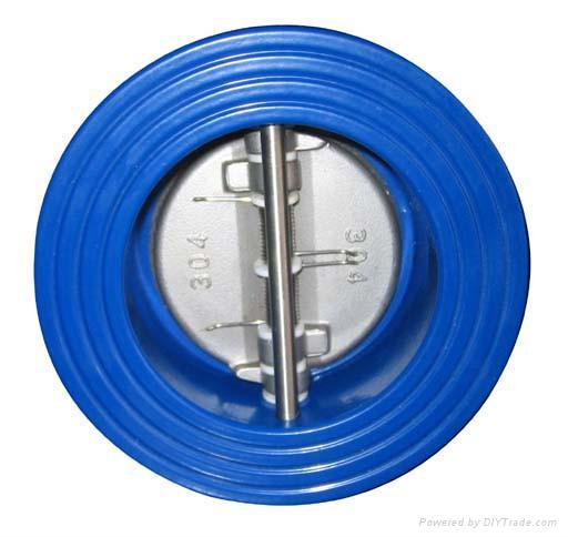 Wafer_Type_Double_Disc_Check_Valve