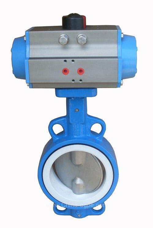 pneumatic_operation_butterfly_valve_Product4429