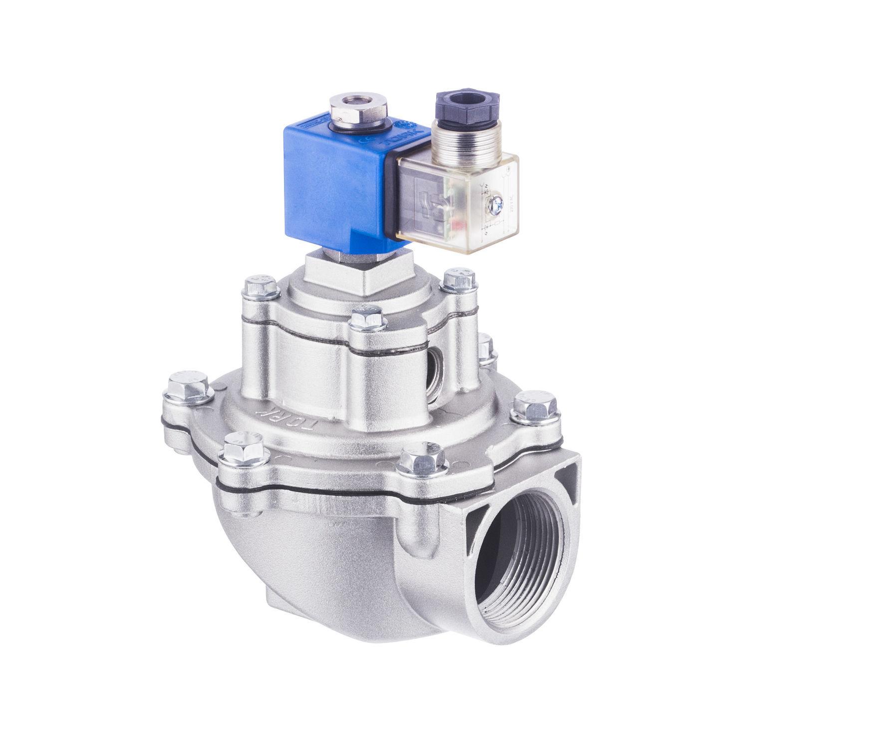 Membrane solenoid valve / single-channel / hydraulic