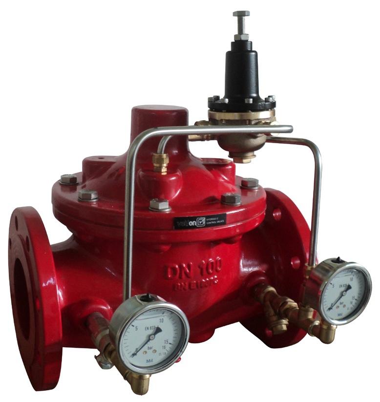 Reductoarele de presiune hidraulice