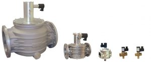 Electroventil gaz cu rearmare manuala 6 bar