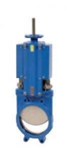 Robineti cutit bidirectional cu pridere ISO pad pentru actionari electrice