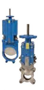 Robineti cutit unidirectional cu pridere ISO pad pentru actionari electrice