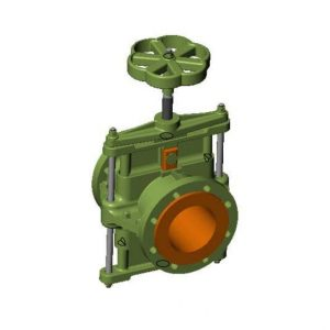 Pinch valve actionare manuala