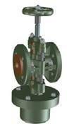 Pinch valve actionare pneumatica simplu efect