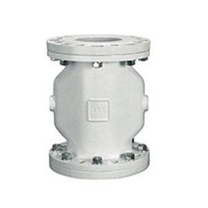 Pinch valve pneumatic flansa